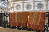 Bassetti Plaid Tiziano V9 in gold