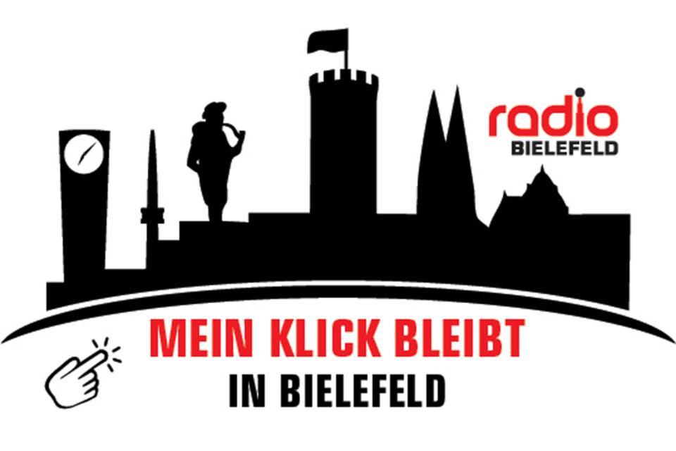 Mein Klick bleibt in Bielefeld Logo