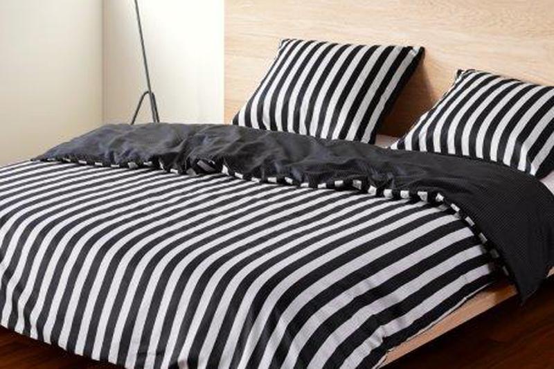 Ein Urbaner Stil Und Klare Farben Zeichnen Diese Bettwäsche Aus